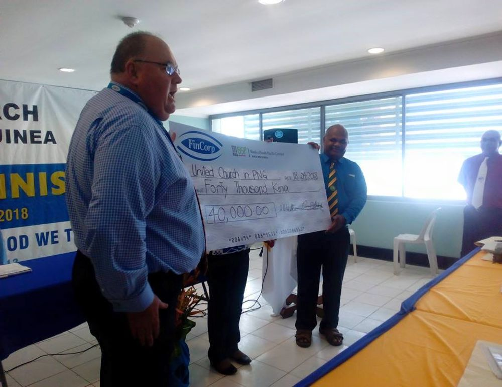 Fincorp donates K40,000 for relief