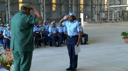 First PNGDF woman air engineer qualifies