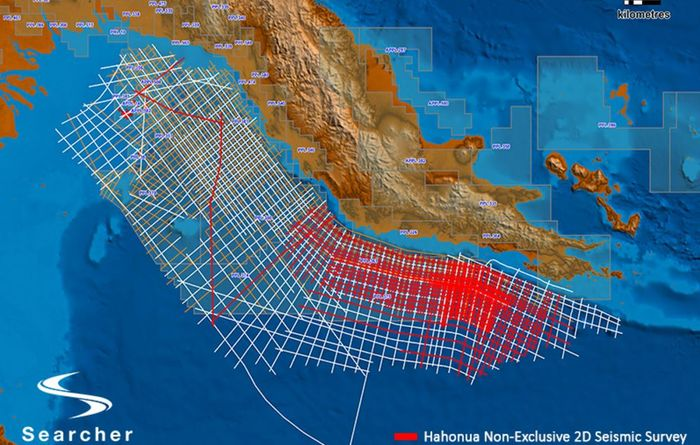 PNG in sights of Searcher
