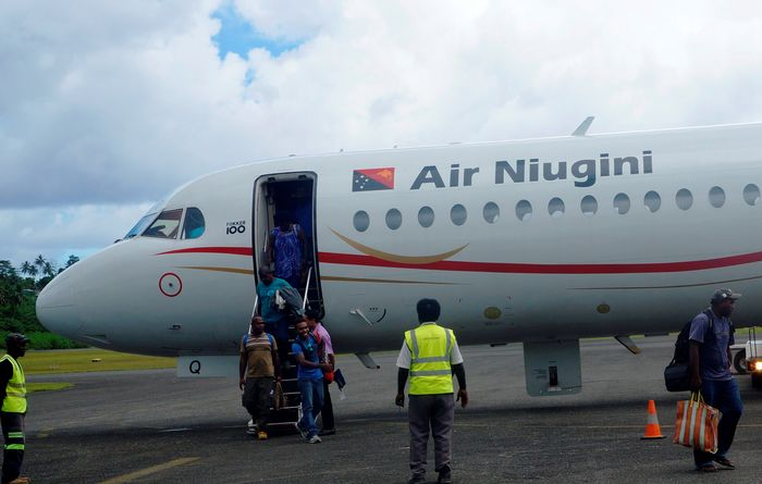 Lighting up flights to Kieta