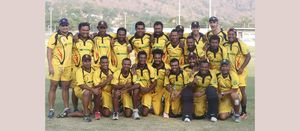 PNG cricketers take aim at Zimbabwe
