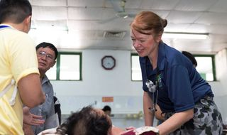 ADF medical team in Vietnam for regional exercise