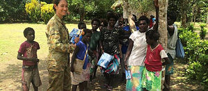 ADF medics in action in Bougainville