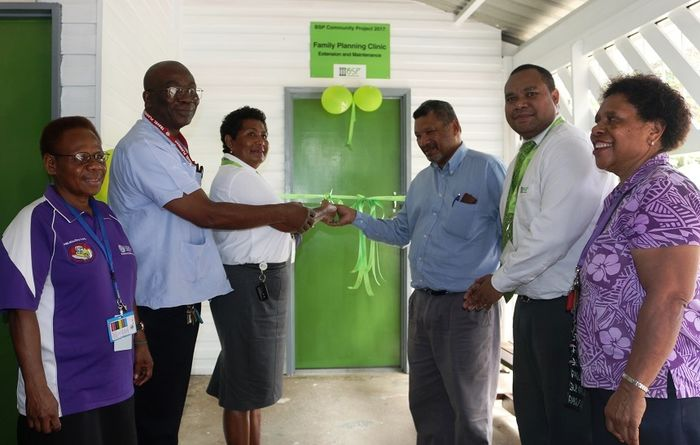 Clinic gets new counselling room
