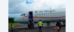 Restrictions end for Air Niugini