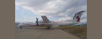 Dash-8 aircraft for Mt Hagen service