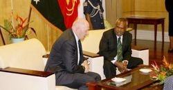 Dadae meets Aus gov general