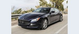 No cost to taxpayers for Maseratis