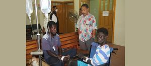 Bougainville 4 adrift at sea for 32 days