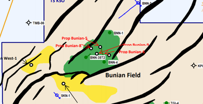Bass reports steady September flows as Bunian-5 drilling underway