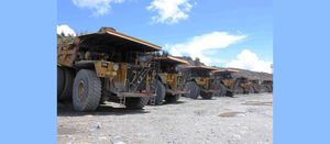 Barrick distances from political strife