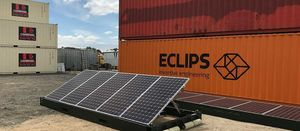 Solar answer to powering relief operations