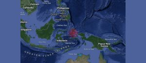 Deaths in Indonesia 'quake