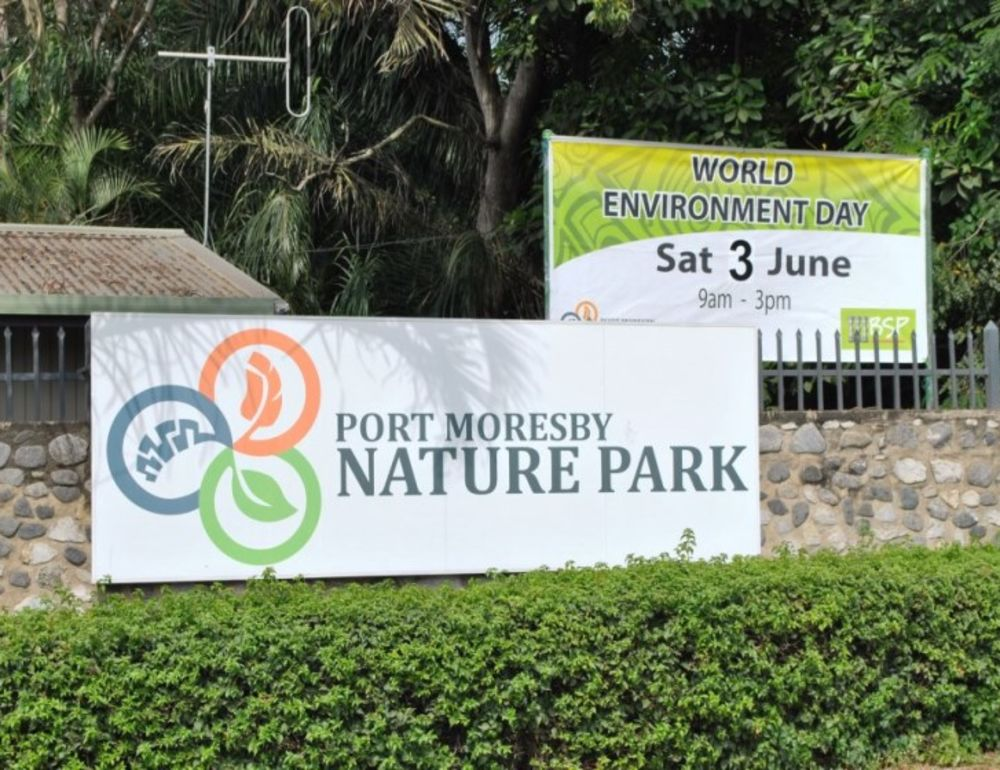 Big day at Moresby Nature Park