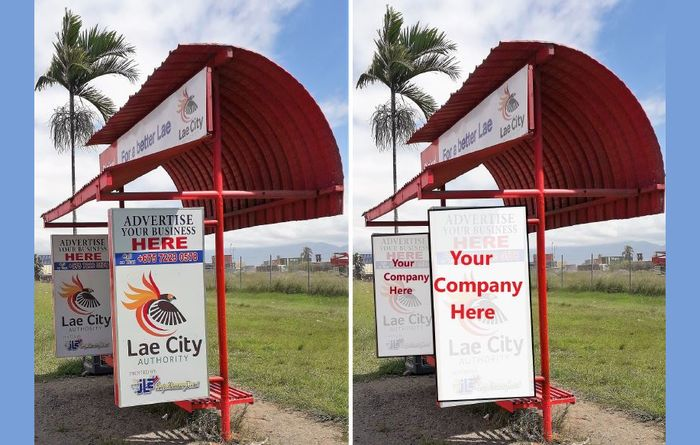 Ads galore for Lae city