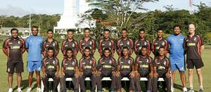 PNG Garamuts off to 8th World Cup