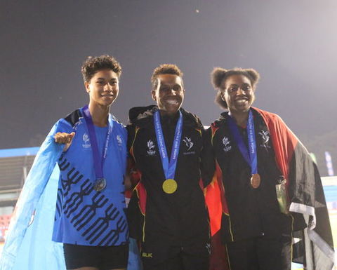 PNG in second place at Pacific Games