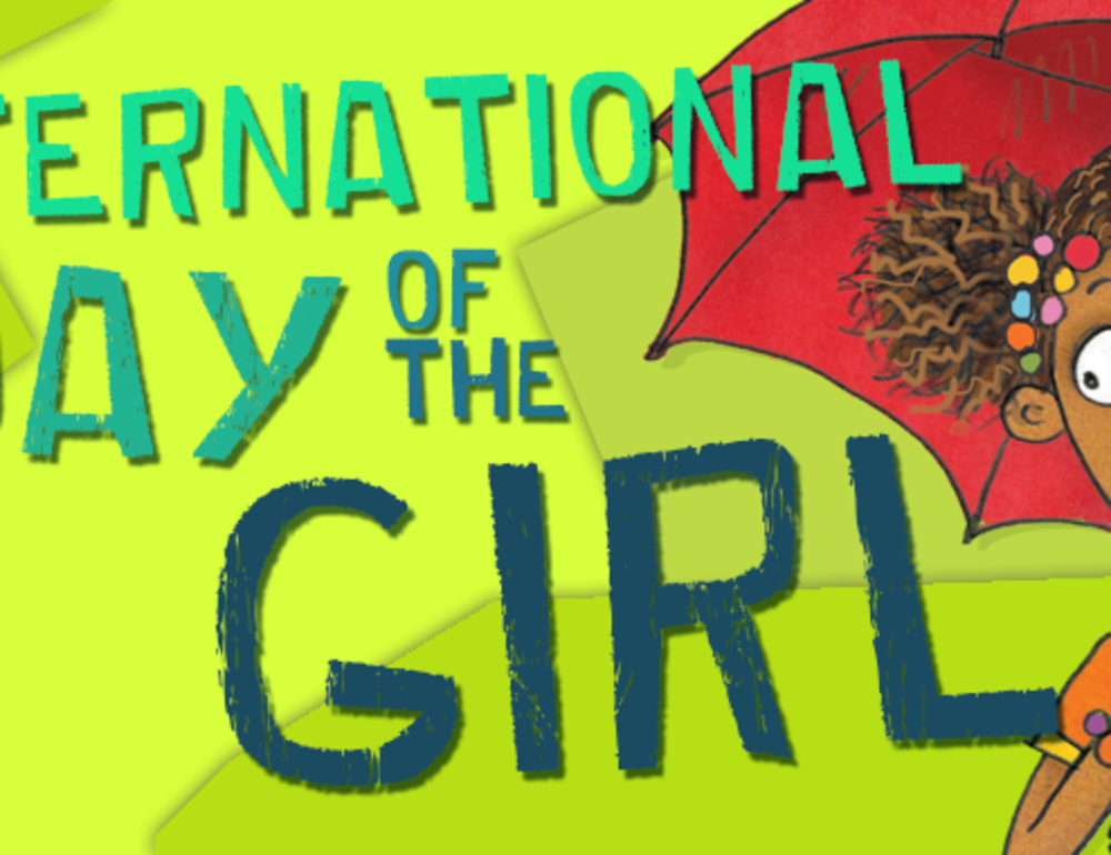Happy Day of the Girl, PNG!